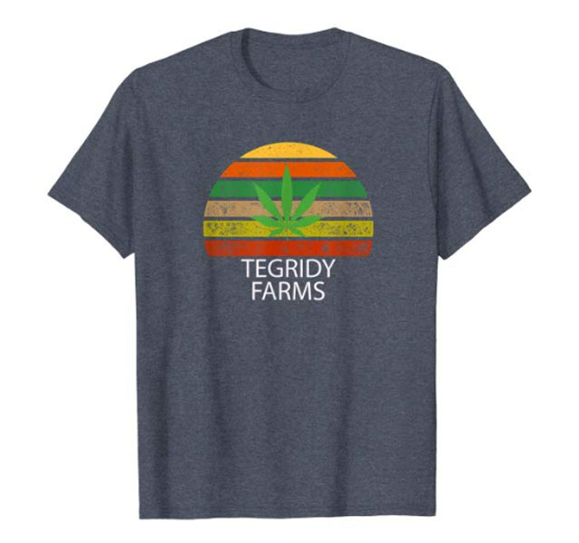 tegridy farms reggae close up picture