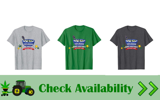 tegridy farms breakfast shirt colors